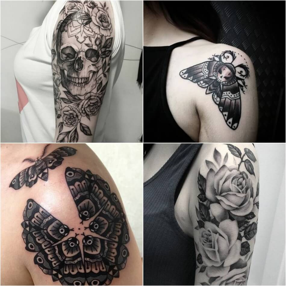 shoulder tattoos - shoulder tattoos for girls - tattoo on shoulder