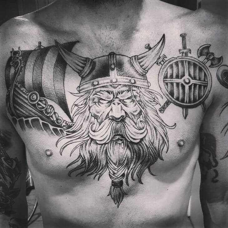 100 Best Chest Tattoos For Men Chest Tattoo Gallery For Men