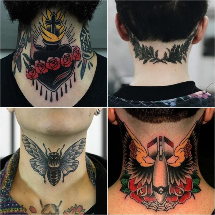 Tattoo For Men Neck Back Tattoo Designs Ideas