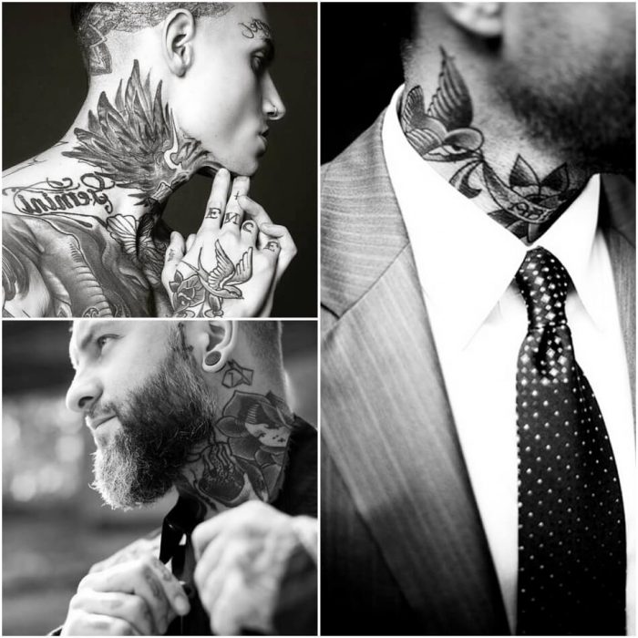 side neck tattoos for guys - neck tattoos - neck tattoos for men