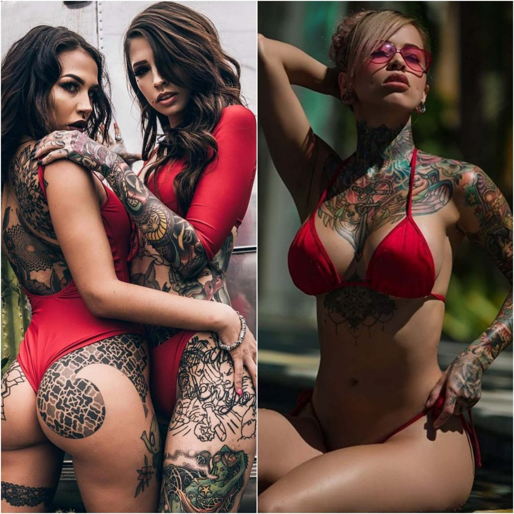 women tattoos - sexy women tattoos - women sleeve tattoos