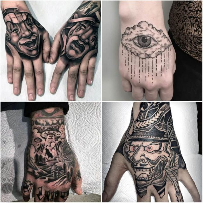 Tattoo Designs Hand Girl: Best Hand Tattoo Ideas For Men - Inked Guys