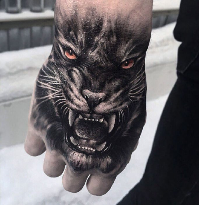 hand tattoos for men - hand tattoos - hand tattoo ideas