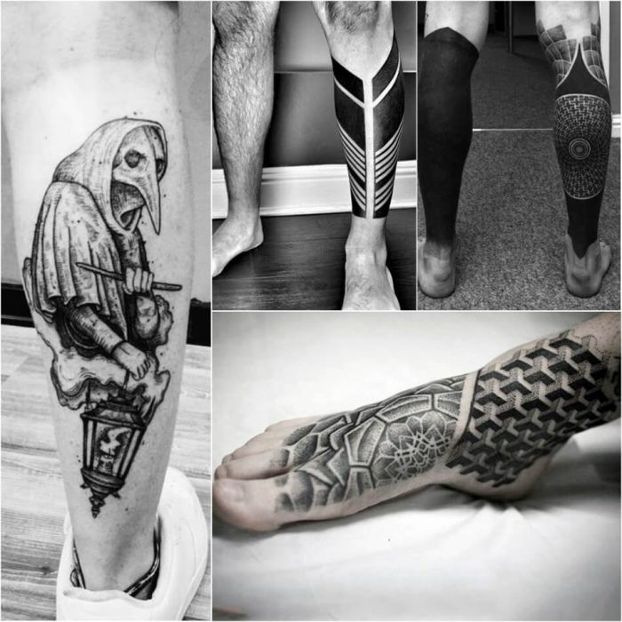 leg tattoos - leg tattoos for guys - leg tattoos designs