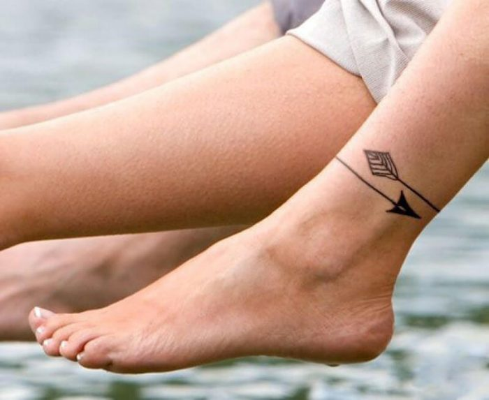 leg tattoos - leg tattoos for women - ankle tattoos