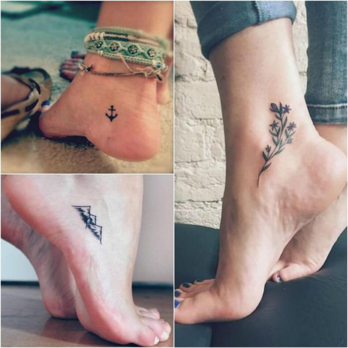 leg tattoos - leg tattoos for women - small leg tattoos