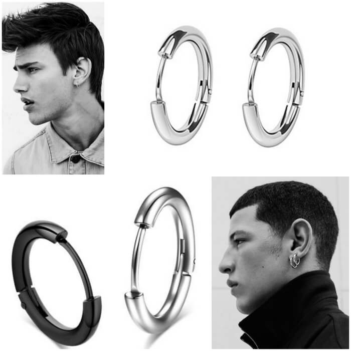 c33a8992c9347 Best Men's Ear Piercing Ideas - Where to Buy Mens Earrings ...
