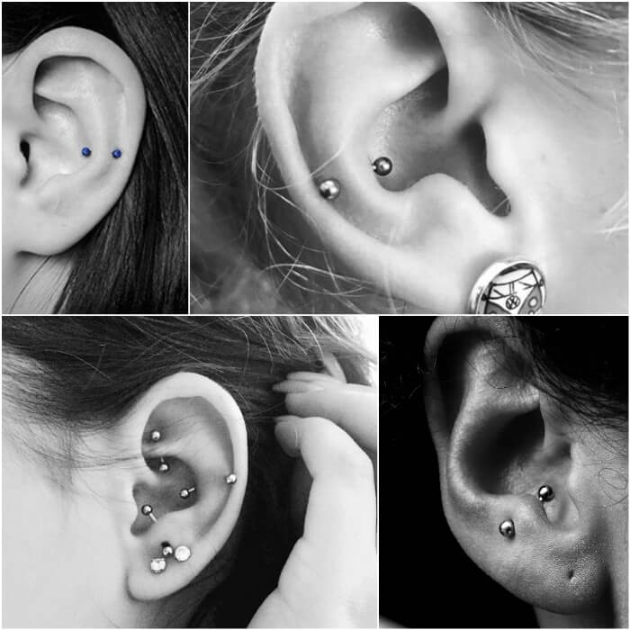 snug piercing - ear piercings - earrings