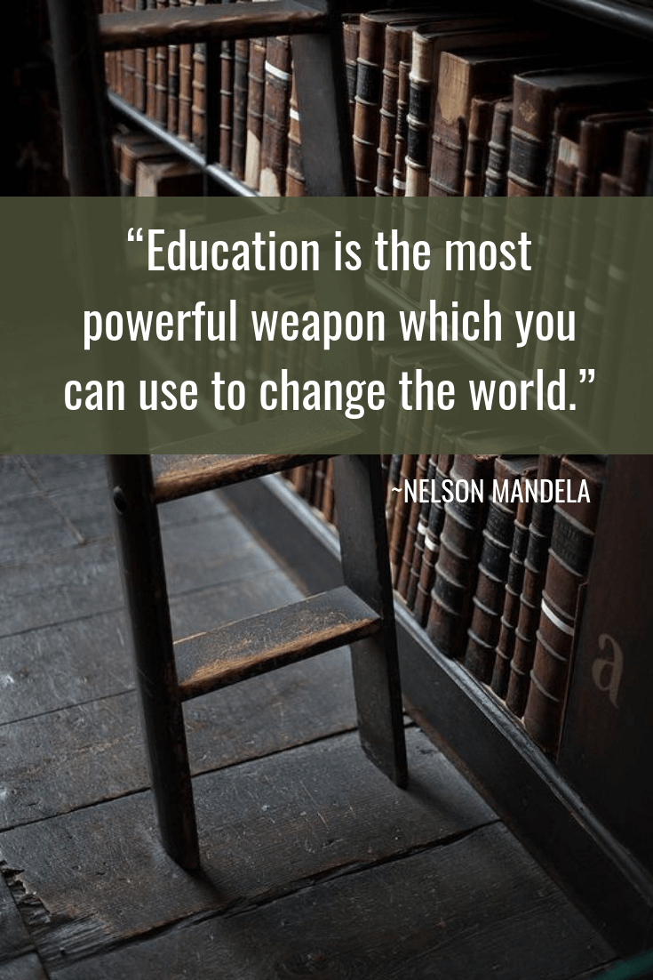 Quotes about Change - NELSON MANDELA Quotes - Education is the most powerful weapon which you can use to change the world