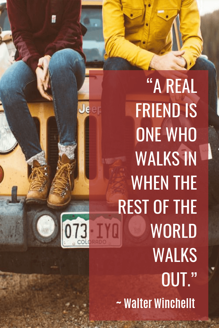friendship quotes - Walter Winchellt quotes - A REAL FRIEND IS ONE WHO WALKS IN WHEN THE REST OF THE WORLD WALKS OUT
