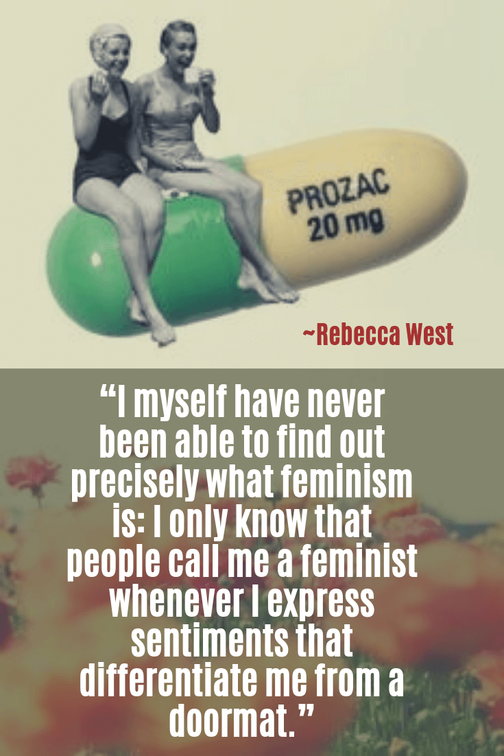 girl power quotes - Rebecca West quotes - I myself have never been able to find out precisely what feminism is I only know that people call me a feminist whenever I express sentiments tha