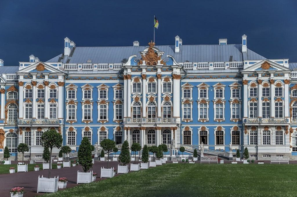 catherine palace baroque-baroque architecture-architecture