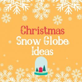 Craft Ideas - snow globe ideas - christmas snow globe
