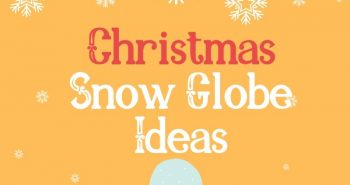 Craft Ideas - snow globe ideas - christmas snow globe