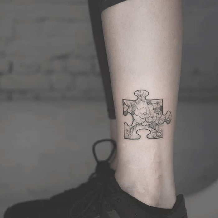 Autism Tattoo Meaning - Autism Tattoo Ideas - Autism Tattoo Black and White