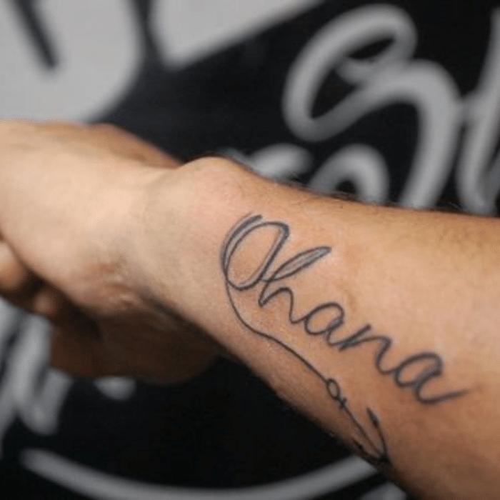 Ohana Tattoo - Ohana Tattoo Meaning - Ohana Tattoo Ideas