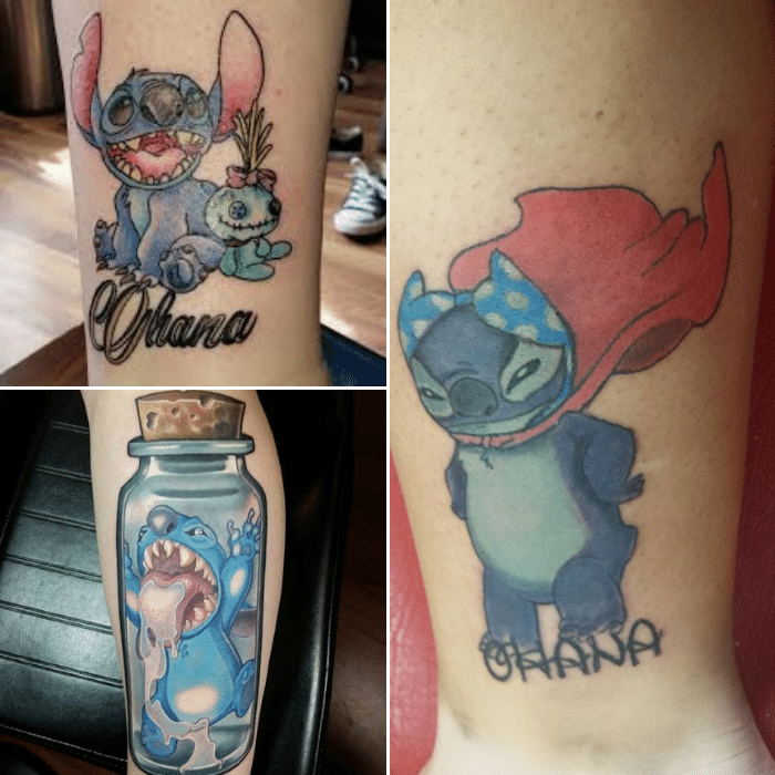 Ohana Tattoo - Ohana Tattoo Meaning - Ohana Tattoo with Stitch