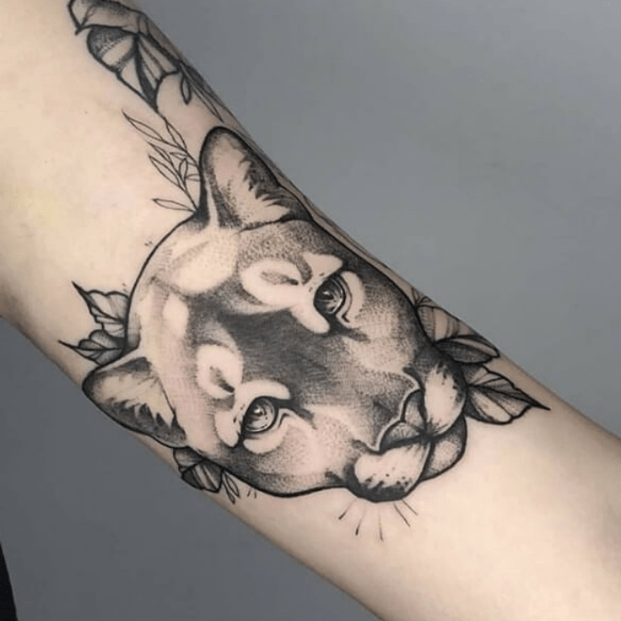 puma tattoo ideas - puma tattoos - puma tattoo meaning