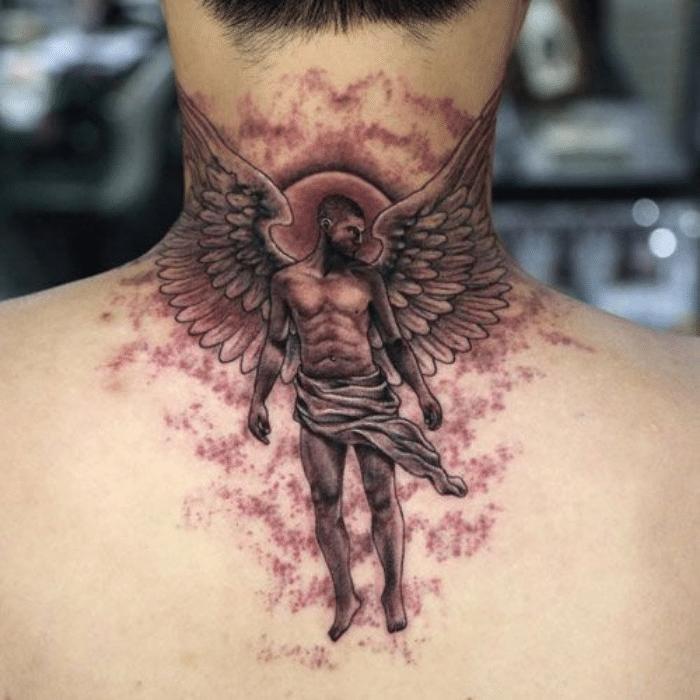 angel tattoos - angel tattoo ideas - angel tattoo for men