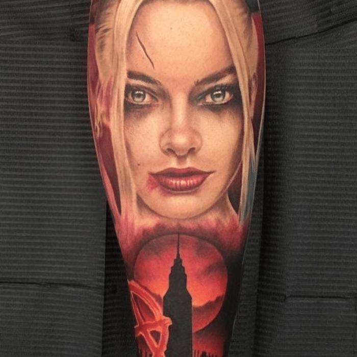 Harley Quinn Tattoos Meaning - Forearm Tattoo Ideas - Harley Quinn Tattoo Placement