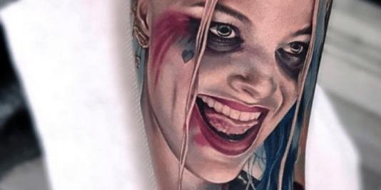 Harley Quinn Tattoos Meaning - Harley Quinn Tattoo Face - Harley Quinn Tattoo Ideas