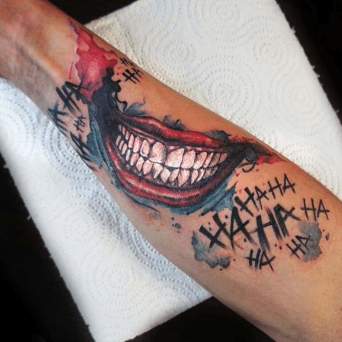 Harley Quinn Tattoos Meaning - Harley Quinn Tattoo on Arm - Forearm Harley Quinn Tattoos