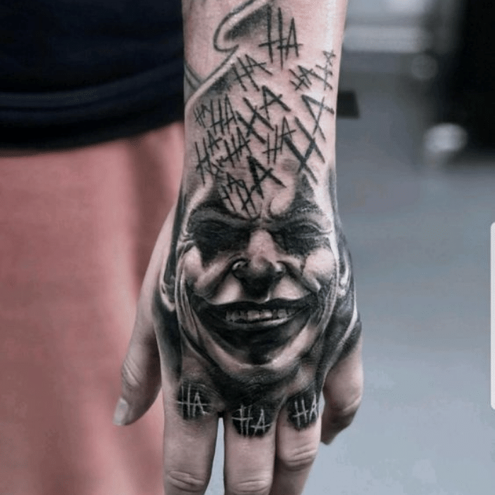 Harley Quinn Tattoos Meaning - Harley Quinn Tattoo on Arm - Hand Harley Quinn Tattoos
